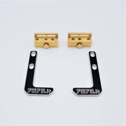 Brass Battery Mount System Kit - XRAY T4
