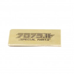 7075-T'20-02 5gr Battery Plate for ALU Chassis