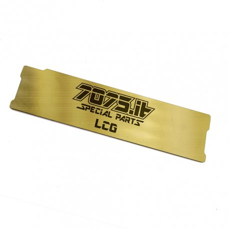 7075-LCG-XBW-20 - LCG Battery Weight For T4'20