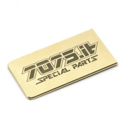 7075-T19-03 5gr Battery Plate for CARBON Chassis